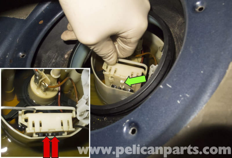 pic12 mercedes benz w211 fuel pump replacement (2003 2009) e320 GM Fuel Pump Wiring Diagram at cos-gaming.co