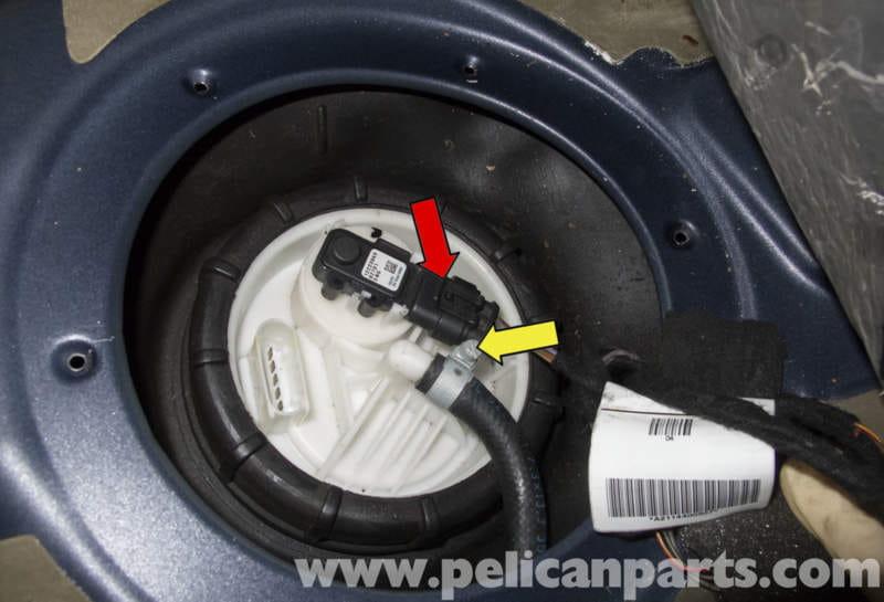 Mercedesbenz W211 Fuel Filter Replacement 20032009 E320 Rhpelicanparts: 2003 Mercedes E320 Fuel Pressure Regulator Location At Taesk.com