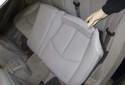 Fold the seat cushion forward.