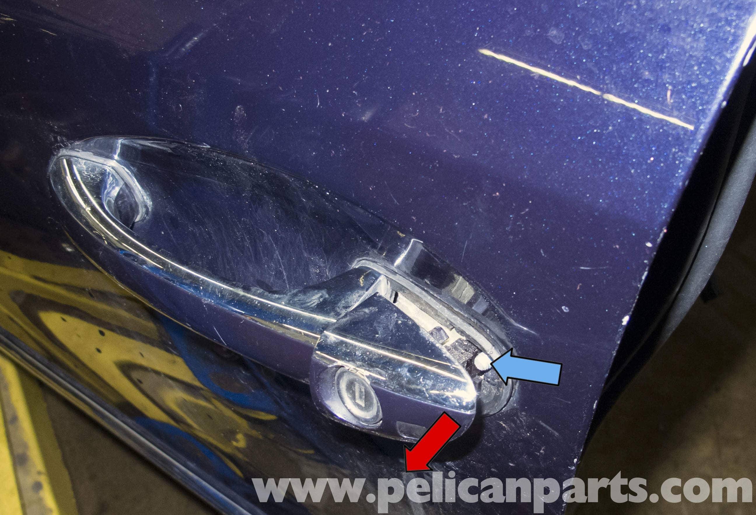 Mercedes Benz W211 Door Handle And Lock Cylinder