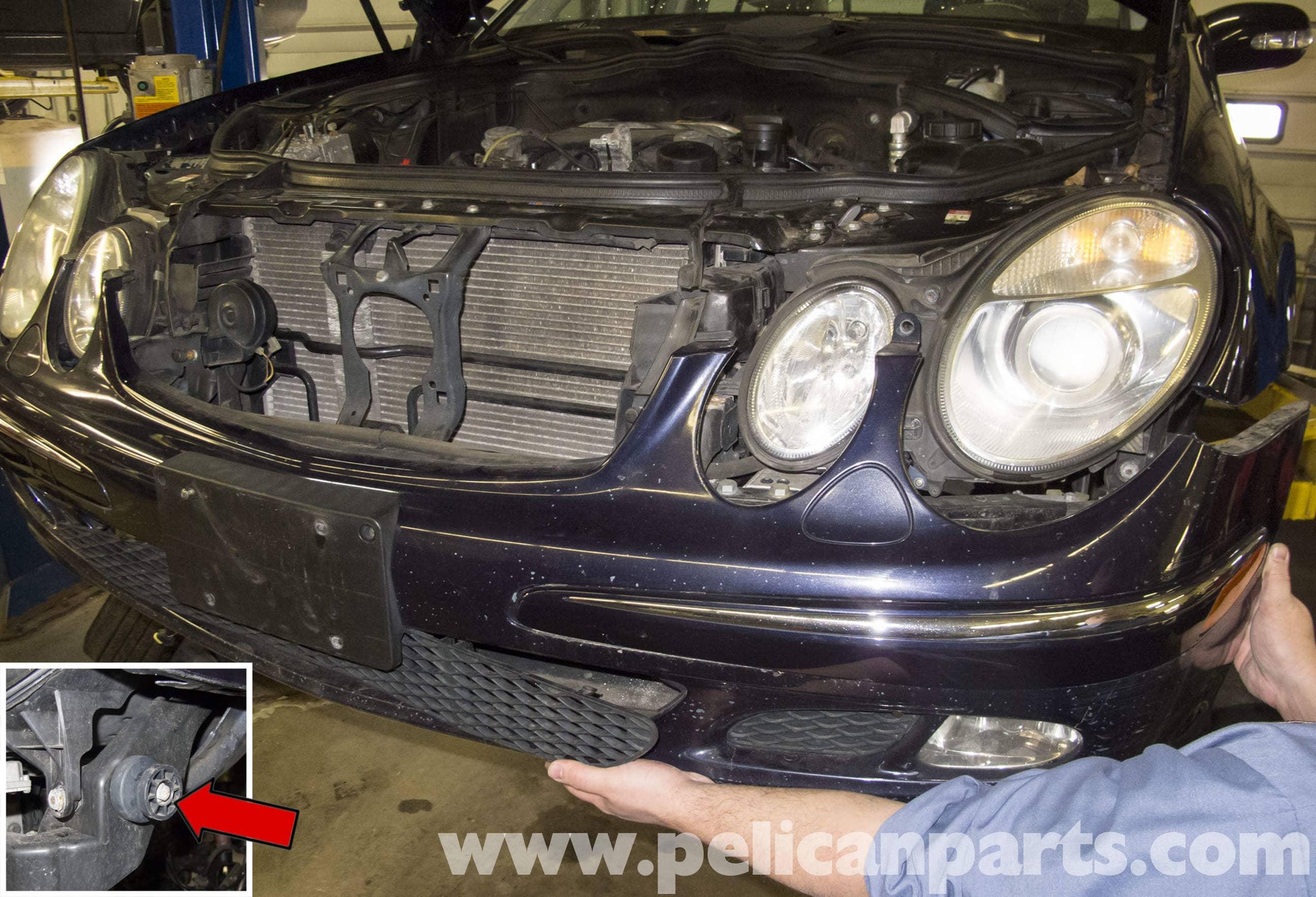 Mercedes-Benz W211 Front Bumper Replacement (2003-2009) E320, E500