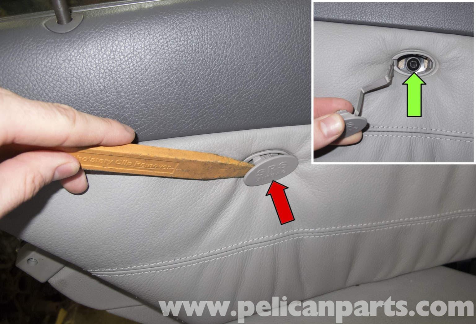 Mercedes benz w211 rear door panel replacement 2003 2009 for Interior door replacement