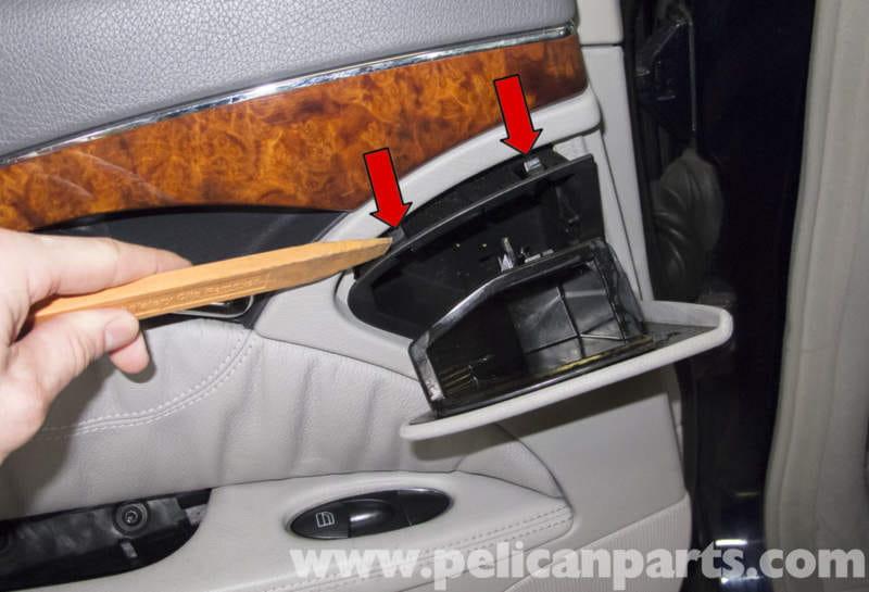 Mercedes Benz W211 Rear Door Panel Replacement 2003 2009 E320