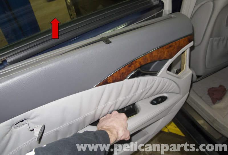 Mercedes Benz W211 Rear Door Panel Replacement 2003 2009
