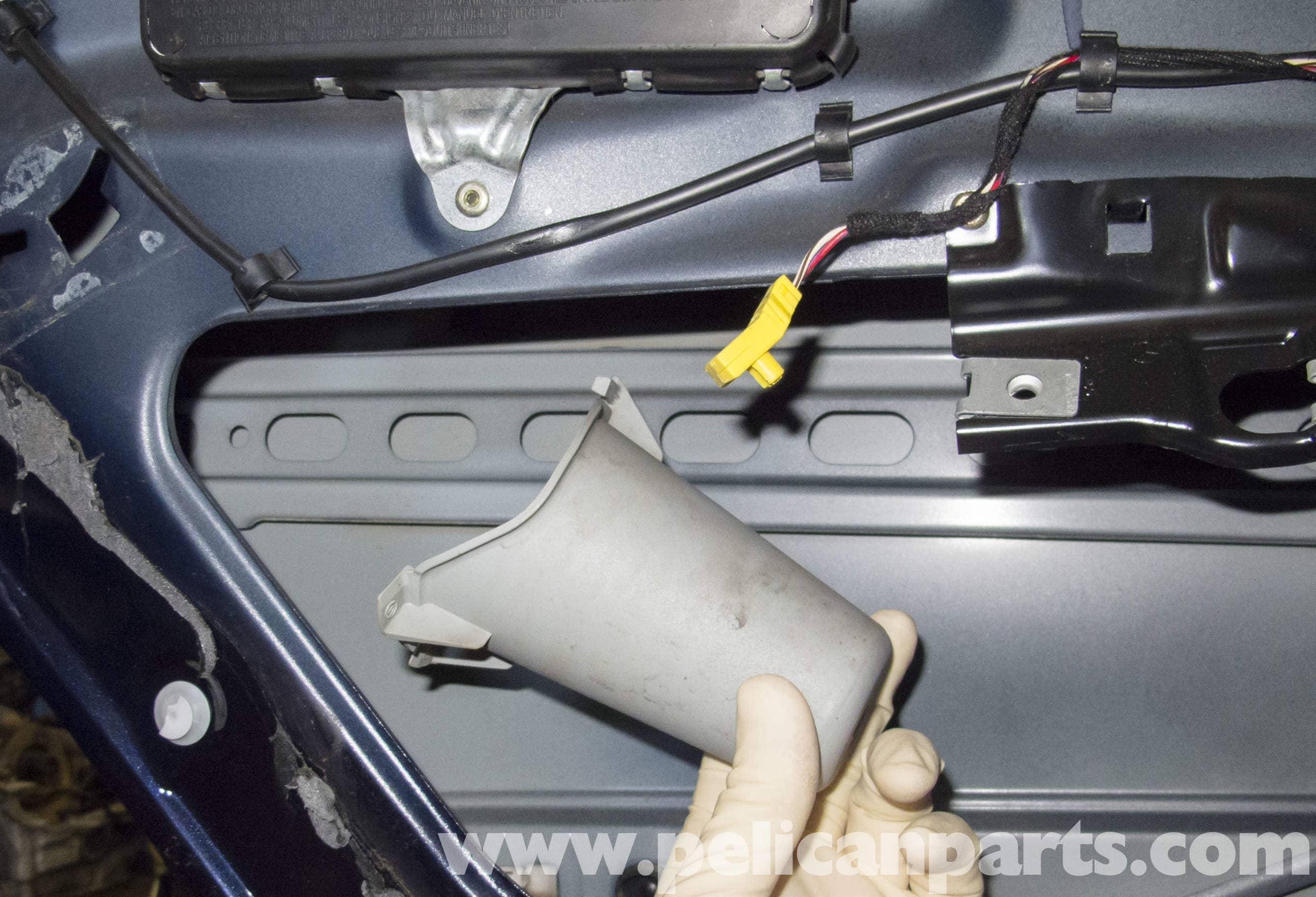 Mercedes Benz W211 Rear Door Handle Release Bracket