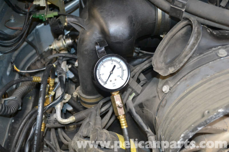 Pic on High Pressure Fuel Gauge