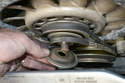 Next you will need to remove the alternator belt so please see our article on that procedure.