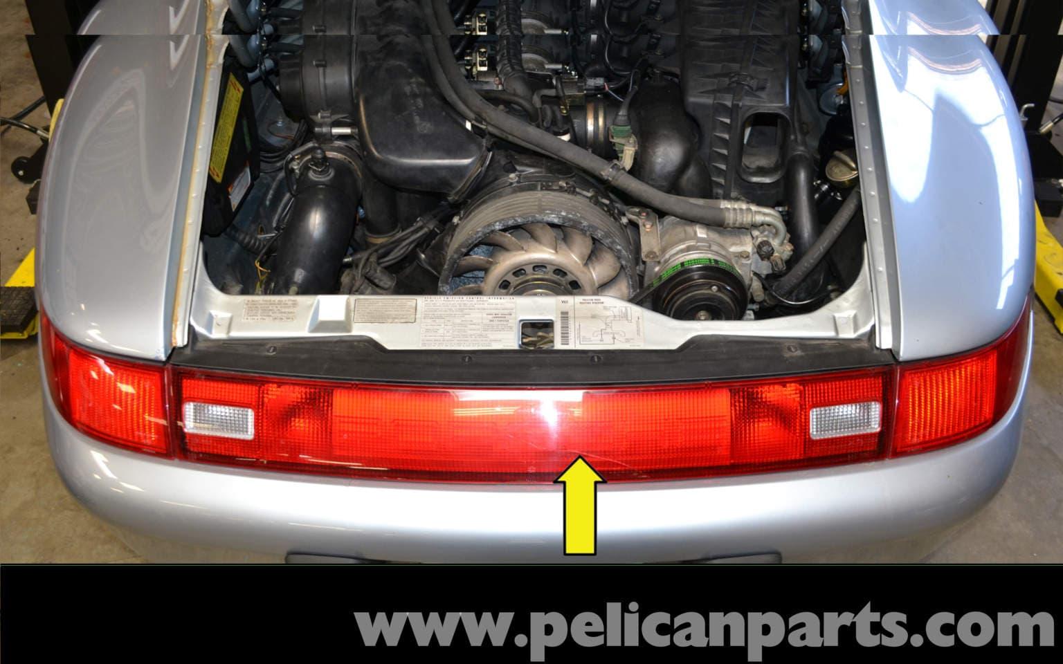 Pelican Technical Article Porsche 993 Rear Reflector
