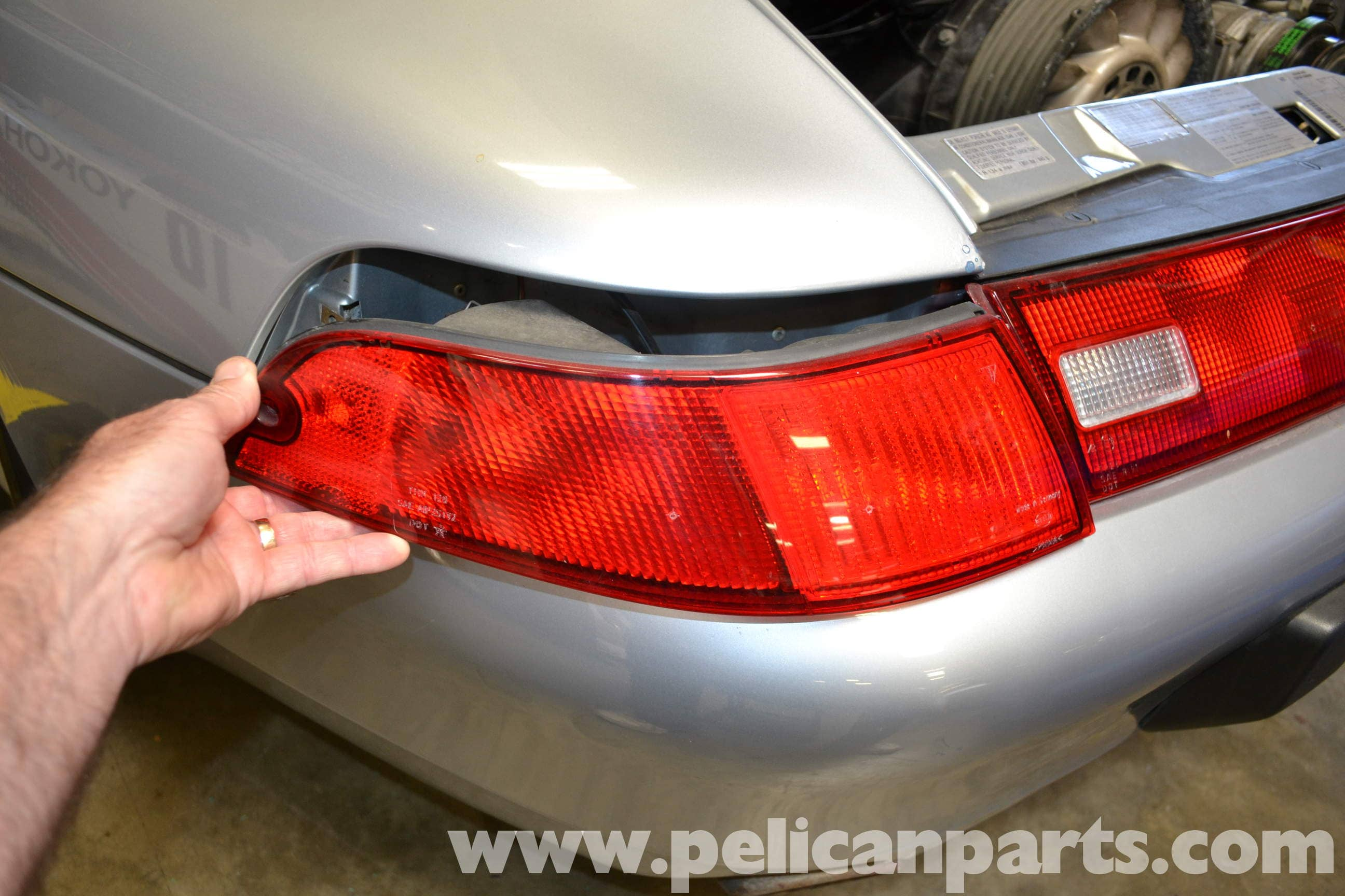Pelican Technical Article - Porsche 993 - Taillight Bulb or Assembly ...