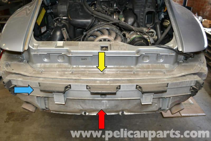 Pelican Technical Article Porsche 993 Rear Bumper