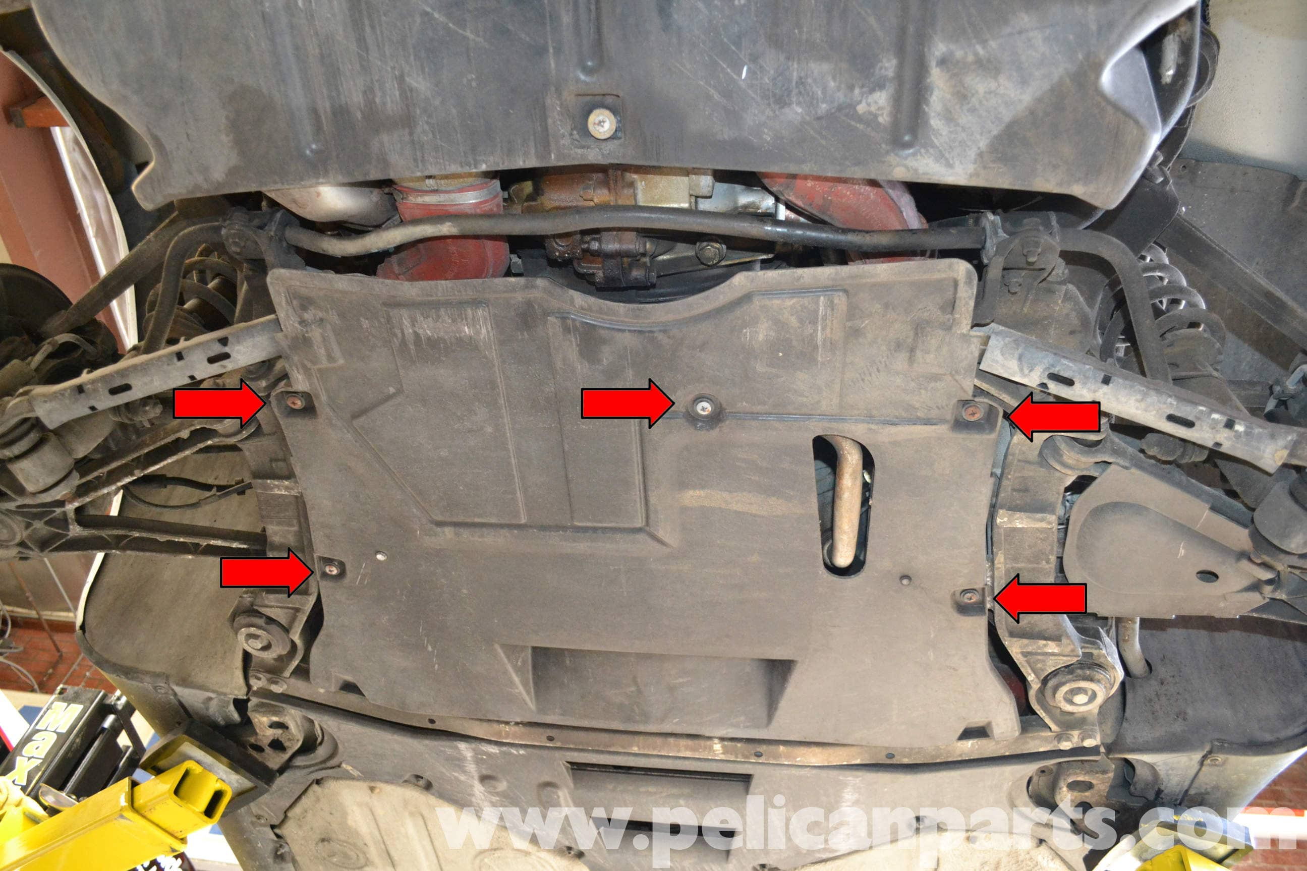Pelican Technical Article Porsche 993 Under Engine Trays