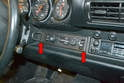 Move inside the car and remove the climate control unit from the dash.