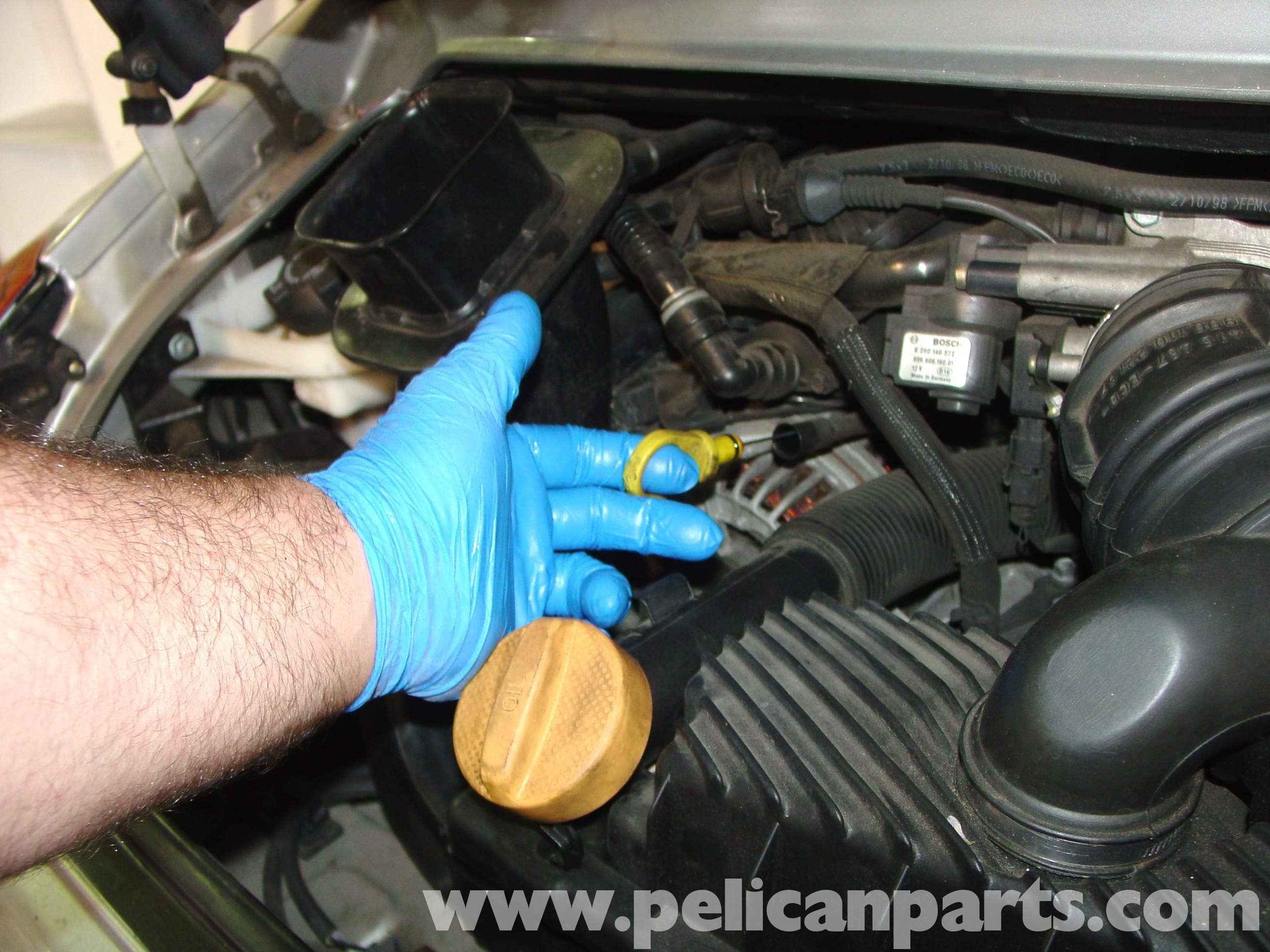 Porsche 911 Carrera Oil Change 996 1998 2005 997