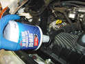 Fill your car with oil from the inlet in the rear engine compartment.