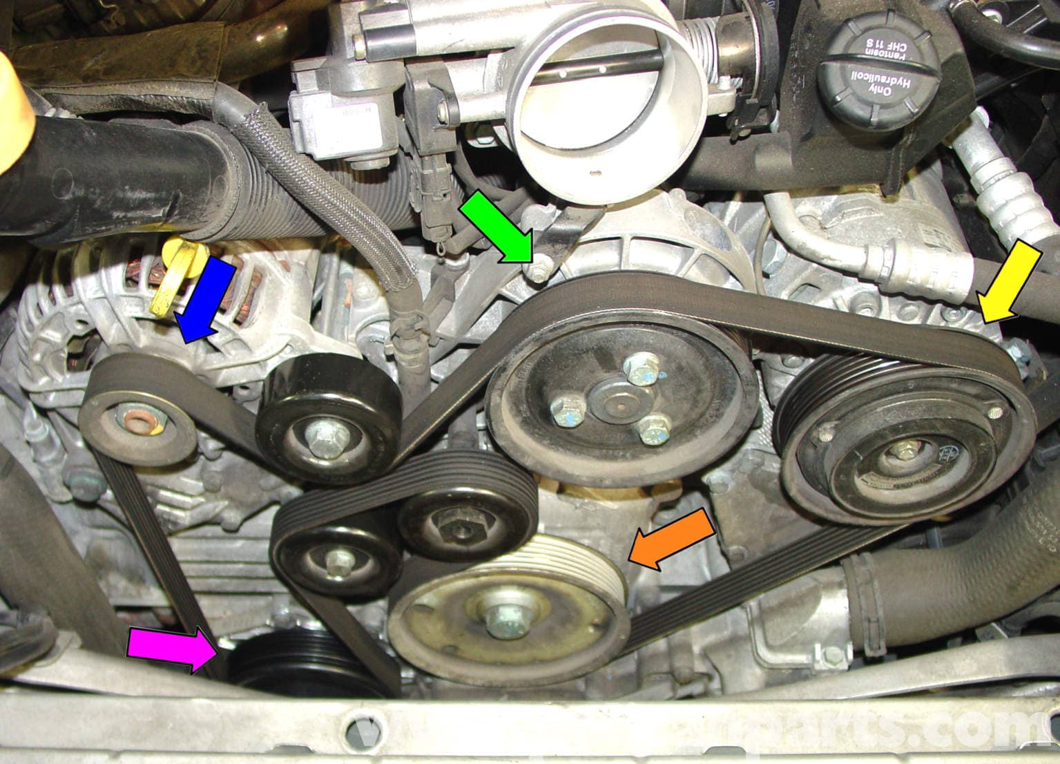 Hyundai Accent 2001 Belt Diagram Air Conditioner Air Conditioner