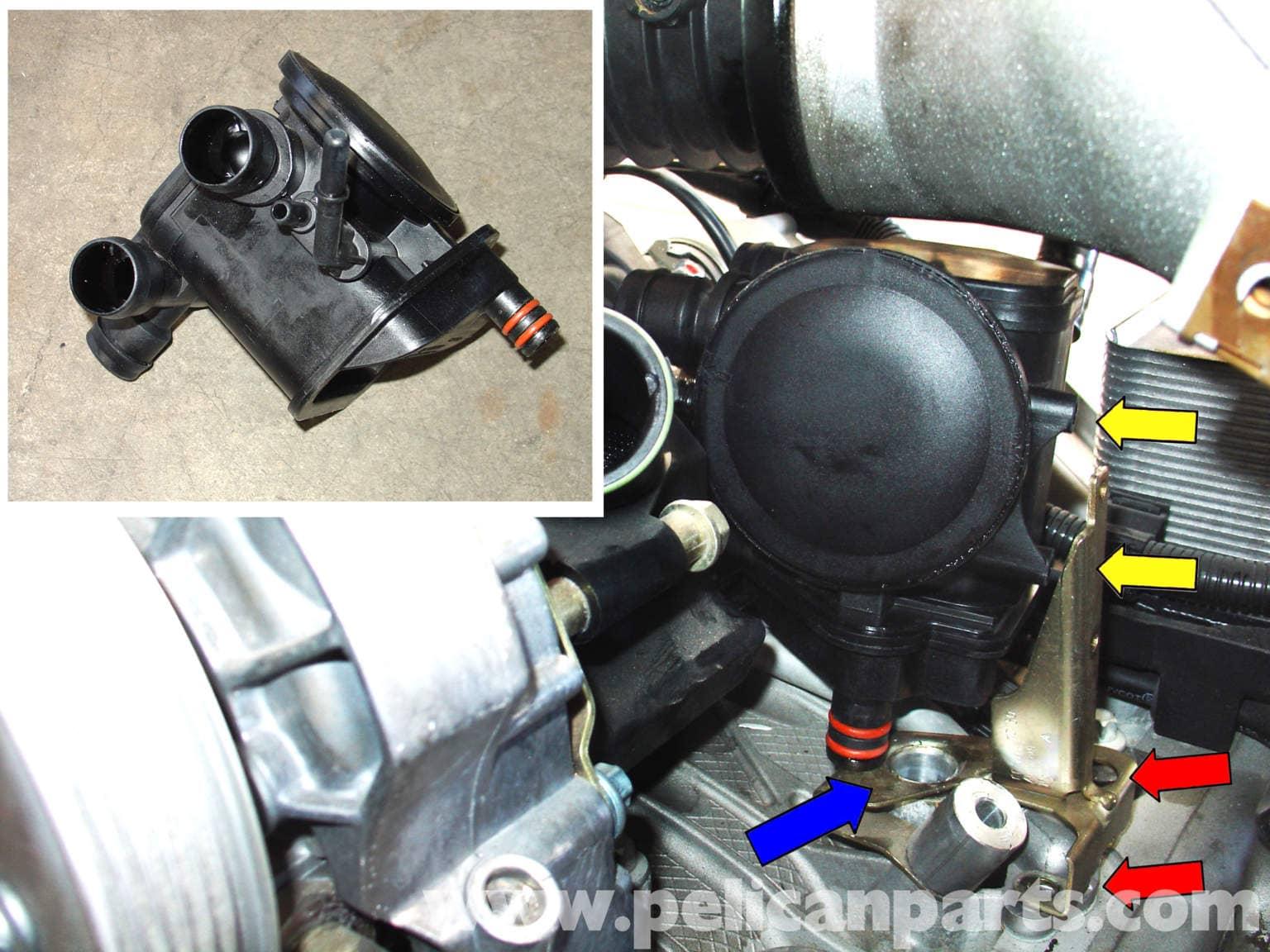 Porsche 911 Air Oil Separator Replacement 996 1998 2005