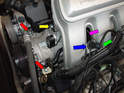 For the later cars with the newer style AOS you will need to remove the both the power steering reservoir and the air conditioning compressor with its lines attached.