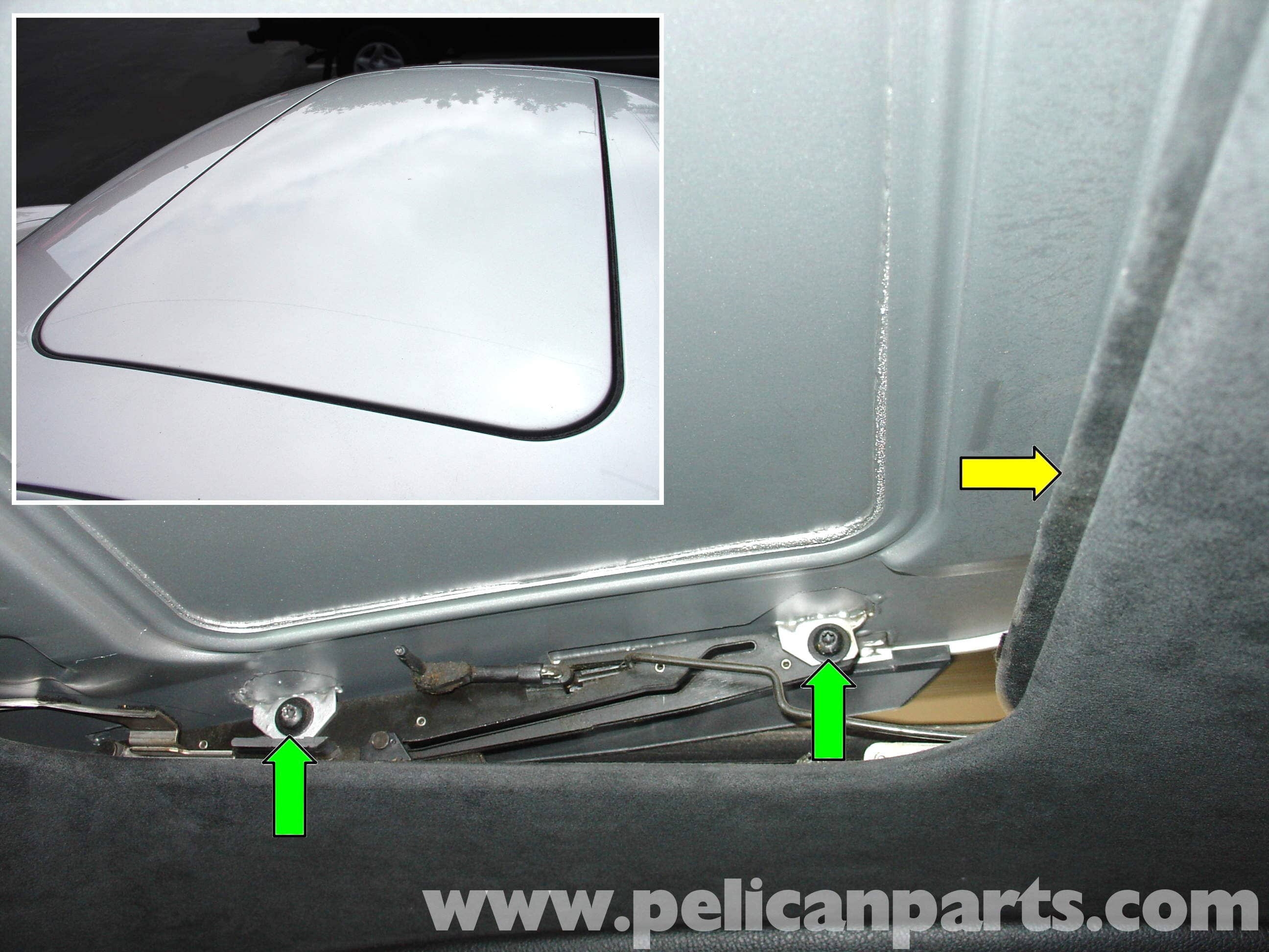 Porsche 911 Carrera Sunroof Repair 996 1998 2005 997