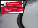 This photo shows the felt roof lining gasket (part number: Picture 564:-Picture 00:) that surrounds the sunroof panel.