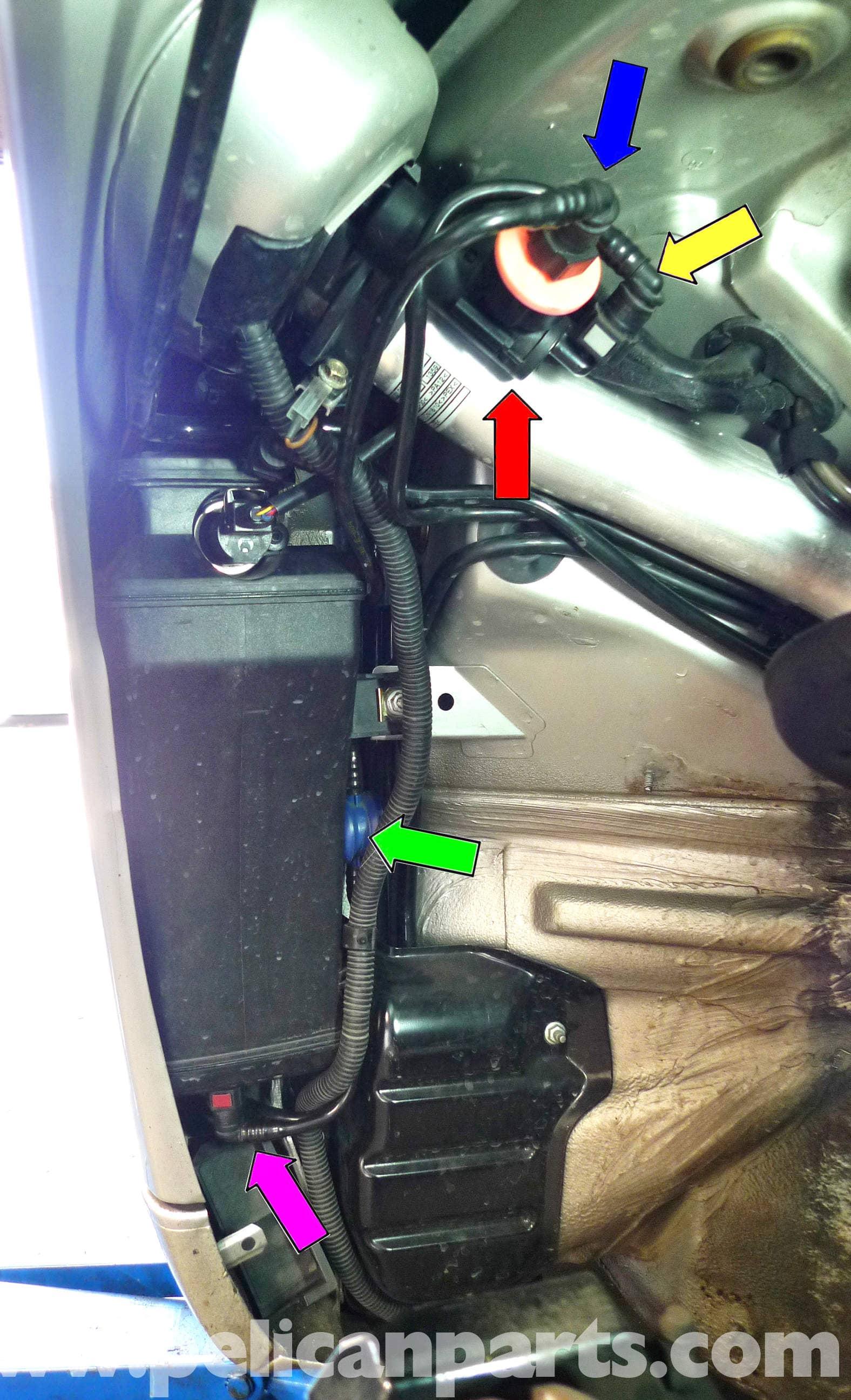 Replacing Your 996 Fuel Line Vent Valve / Bleeder Valve - Porsche