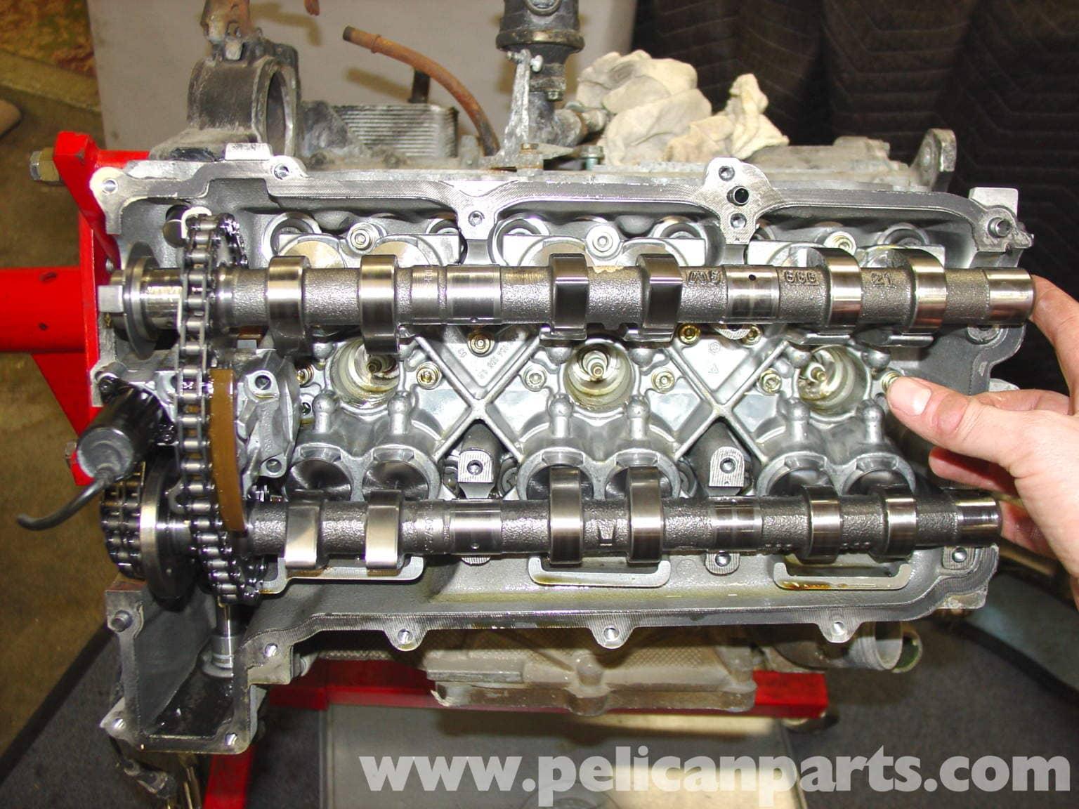 Porsche 911 Carrera Camshaft Swap And Valve Train Repair