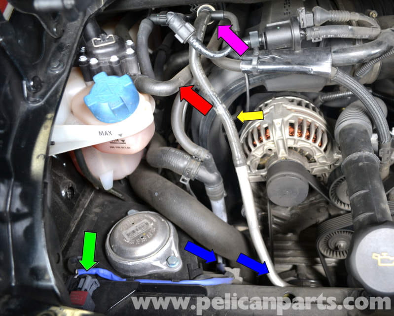 Porsche 911 Carrera Fuel Injector Replacement 996 1998