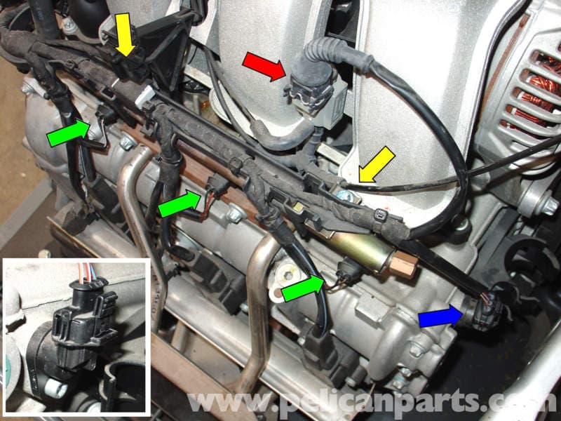 Porsche 911 Carrera Fuel Injector Replacement - 996  1998-2005  - 997  2005-2012