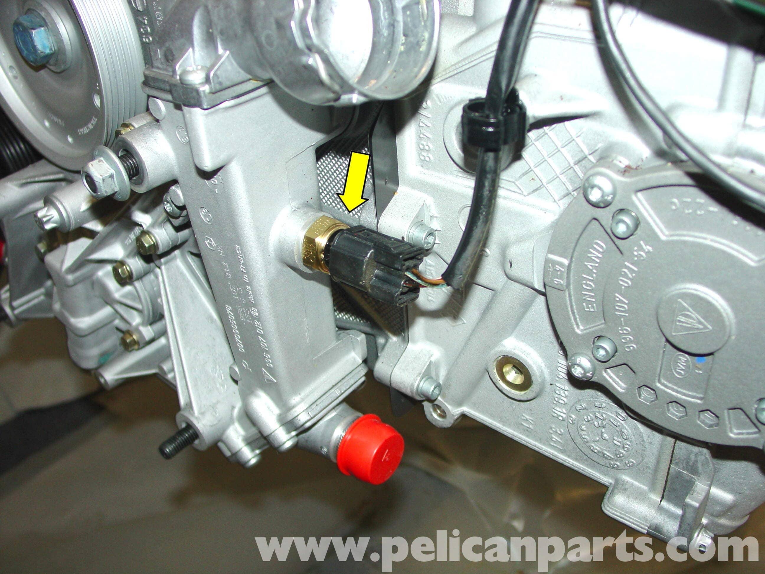 porsche  carrera engine sensor replacement
