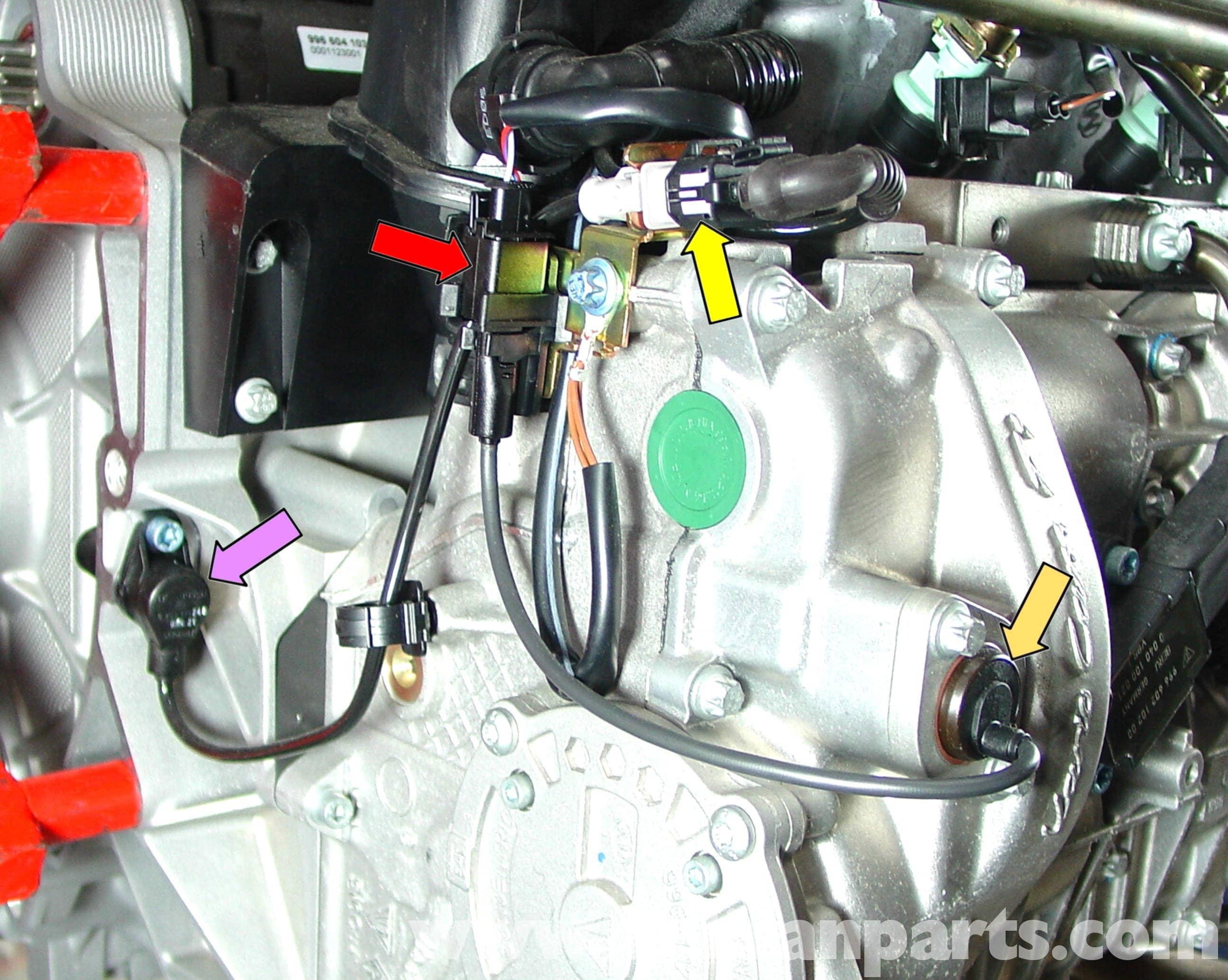 porsche 911 carrera engine sensor replacement 996 (1998 2005996 Fuel Gauge Wiring #19