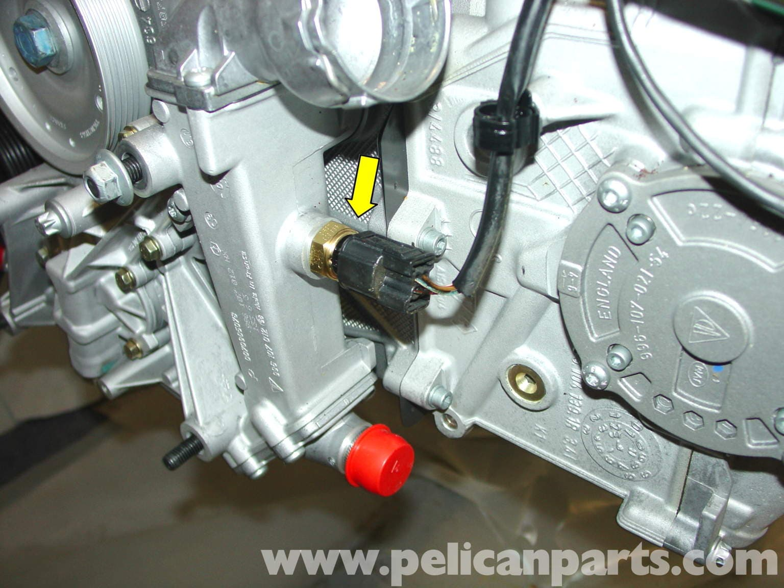 Porsche 911 Carrera Engine Sensor Replacement 996 1998