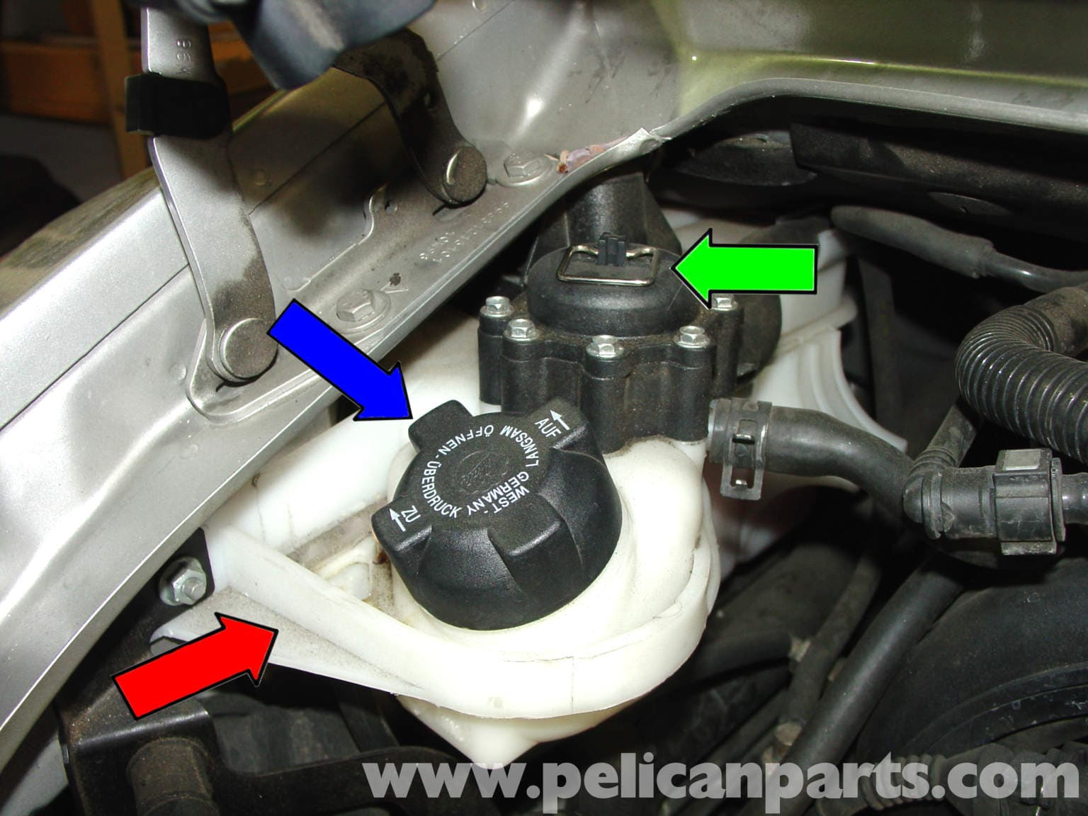 Porsche 911 Carrera Coolant Flush 996 1998 2005 997