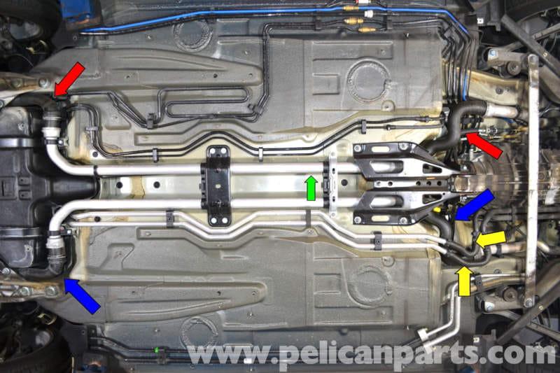 Porsche 911 Carrera Coolant Hose Replacement