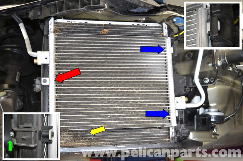 Porsche 911 Carrera Radiator And Fan Replacement 996