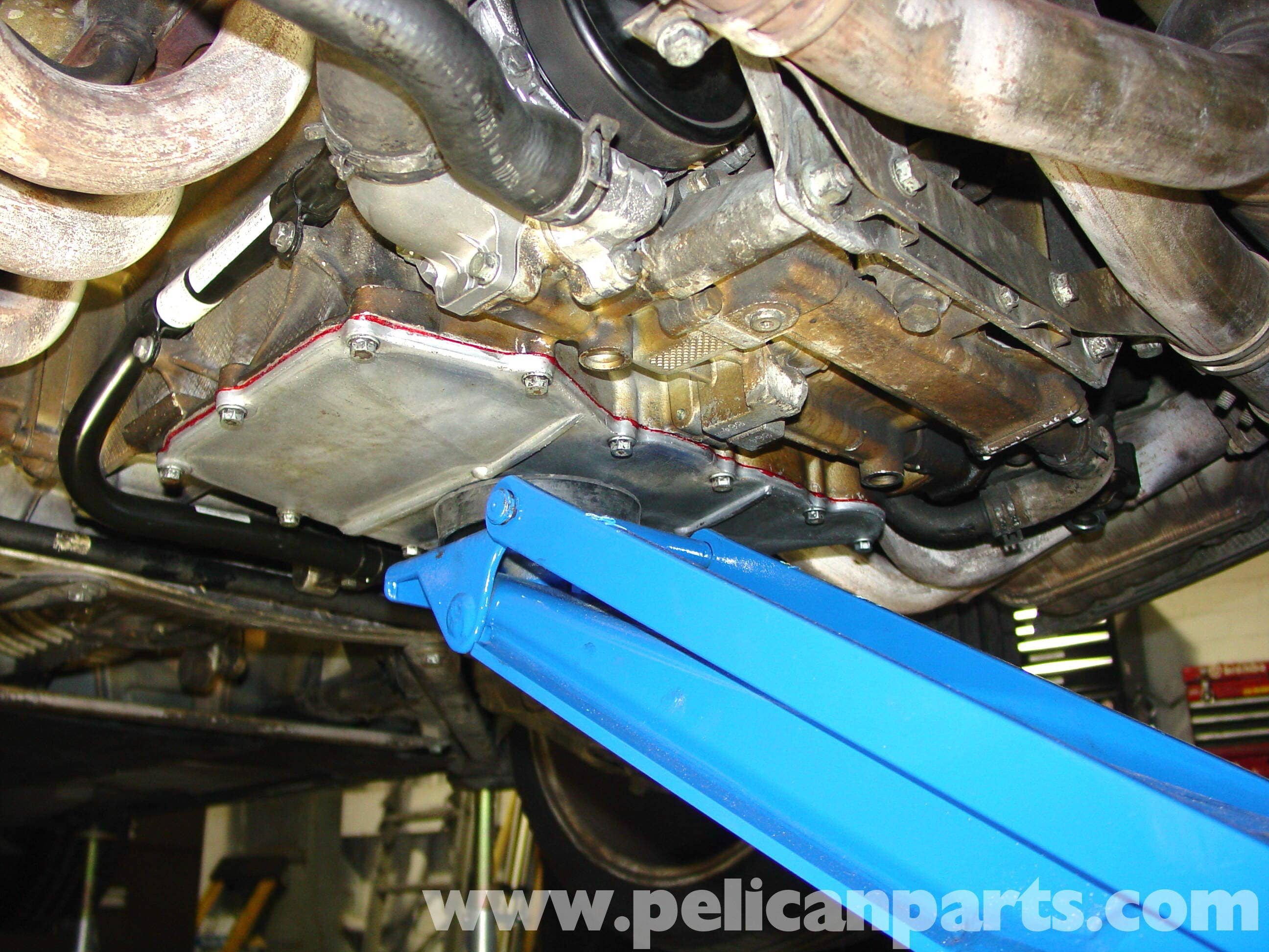 Porsche 911 Carrera Coolant Tank Replacement 996 1998