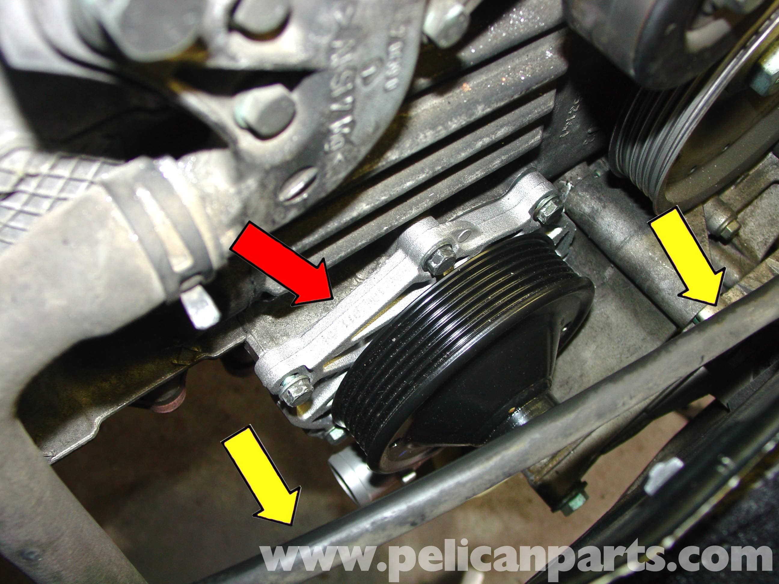 Porsche 911 Carrera Water Pump And Thermostat Replacement