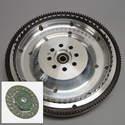 Shown here is a lightened flywheel.