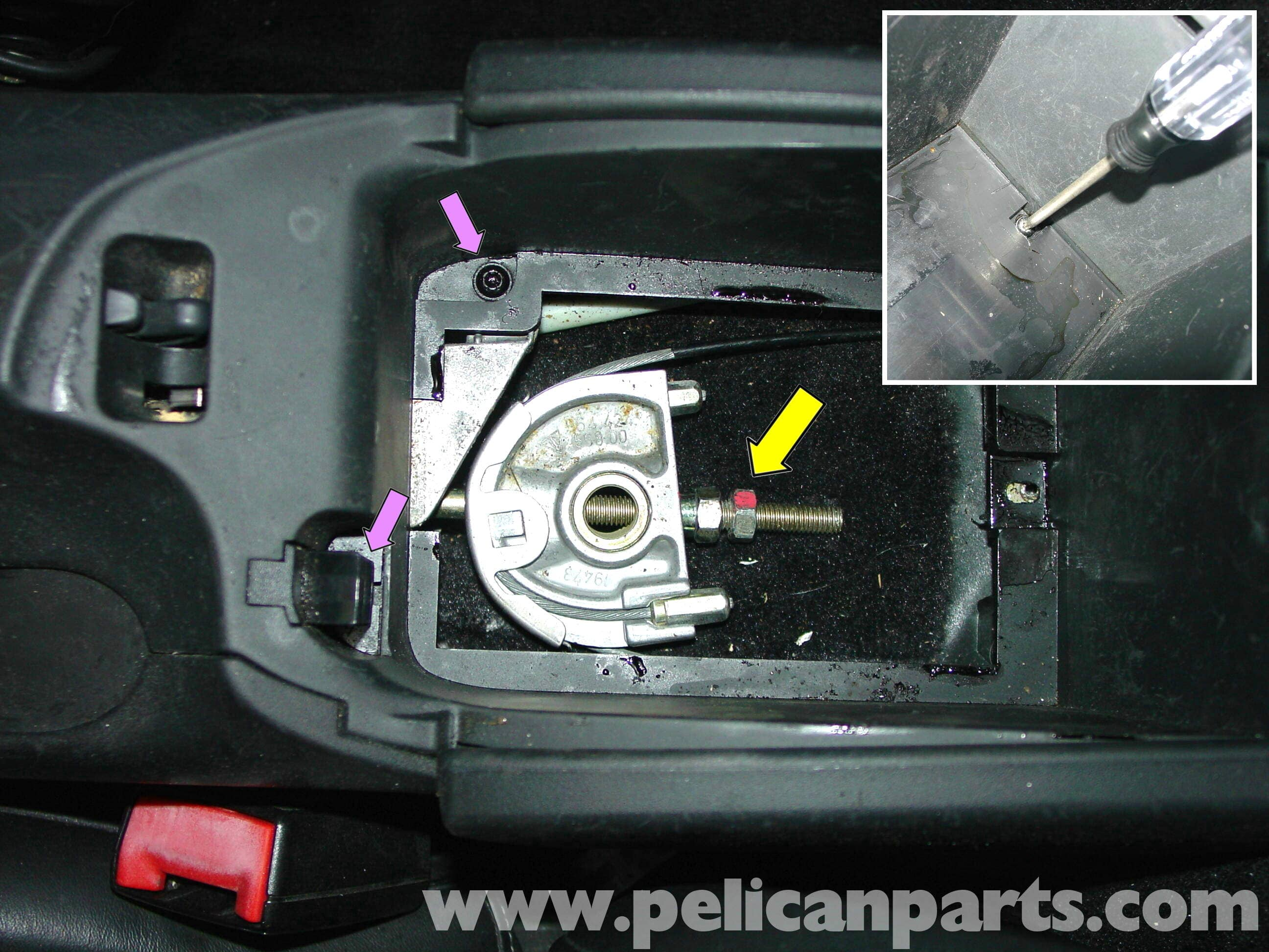 Porsche 911 Carrera Parking Brake Adjustment 996 1998