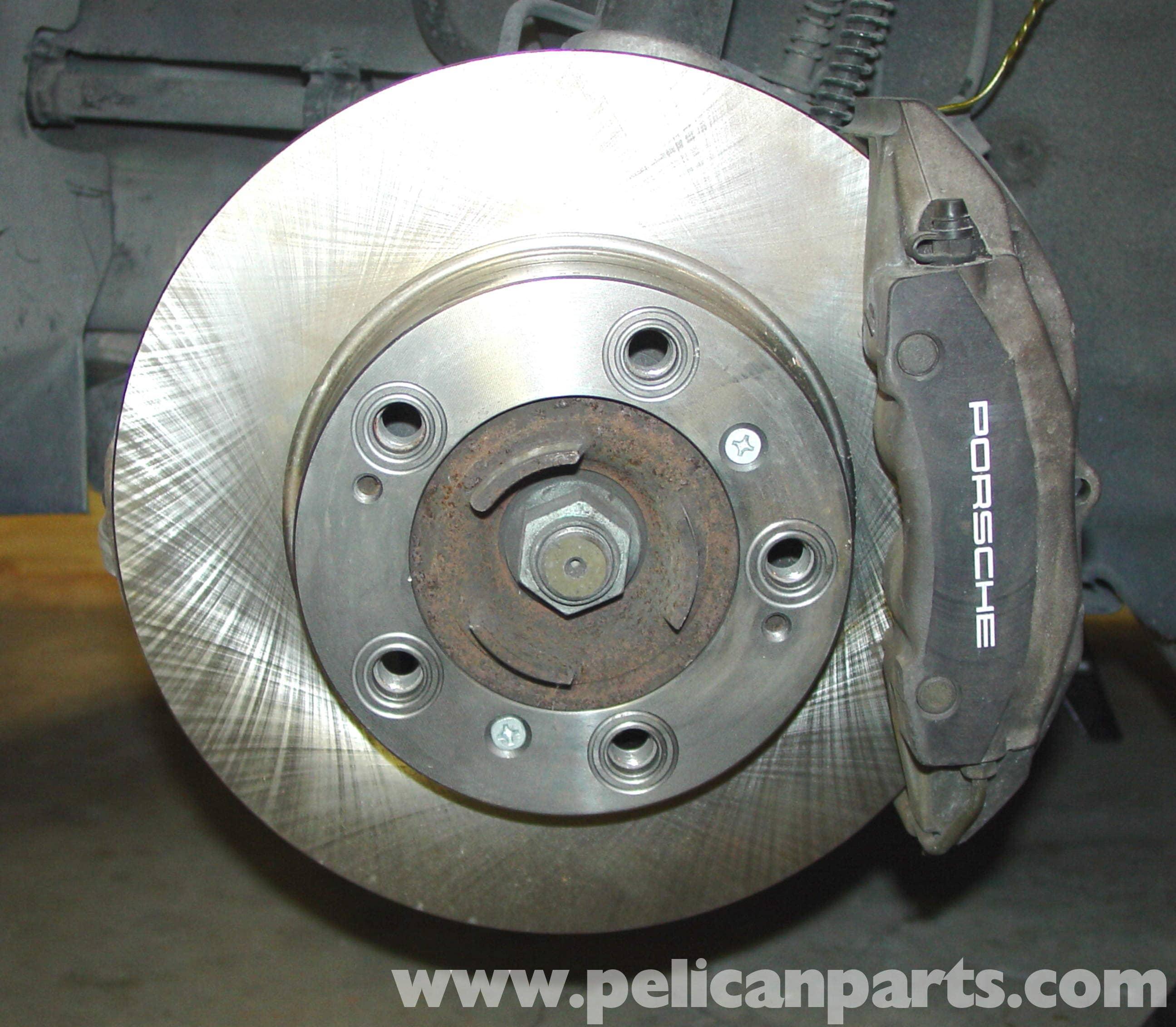 Porsche 996 Automatic Transmission Removal: Porsche 911 Carrera Brake Disc Replacement