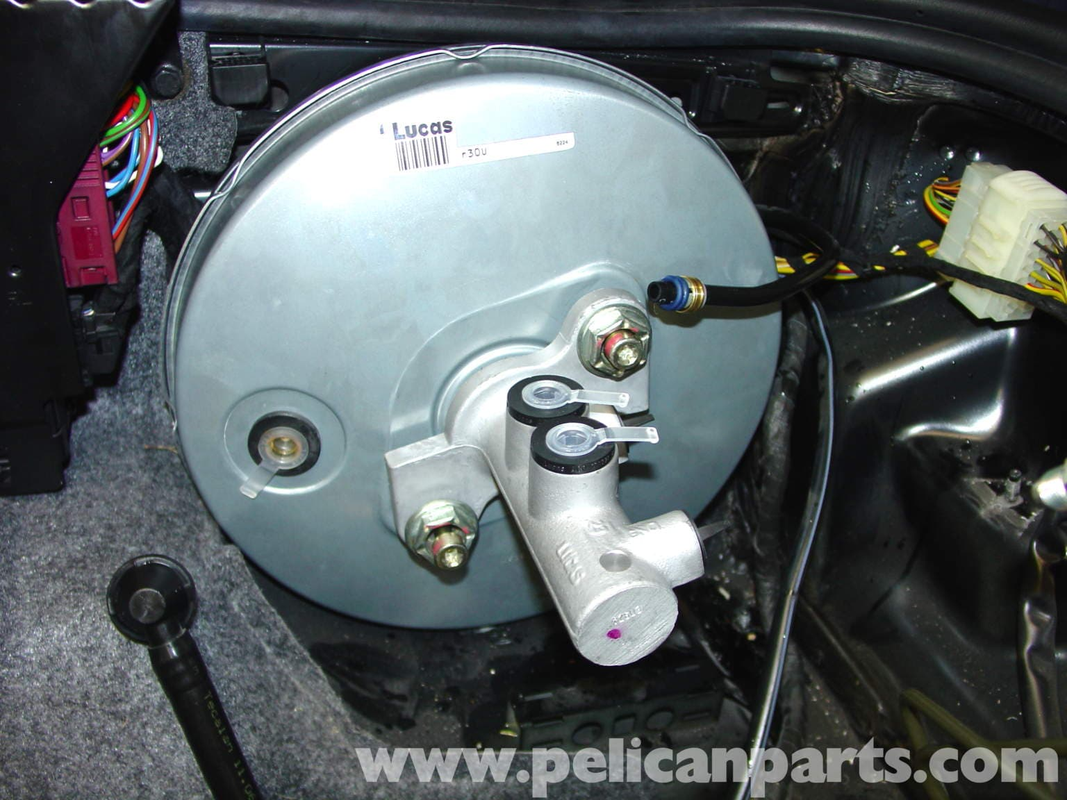 Porsche 911 Carrera Brake Booster And Abs Control Unit