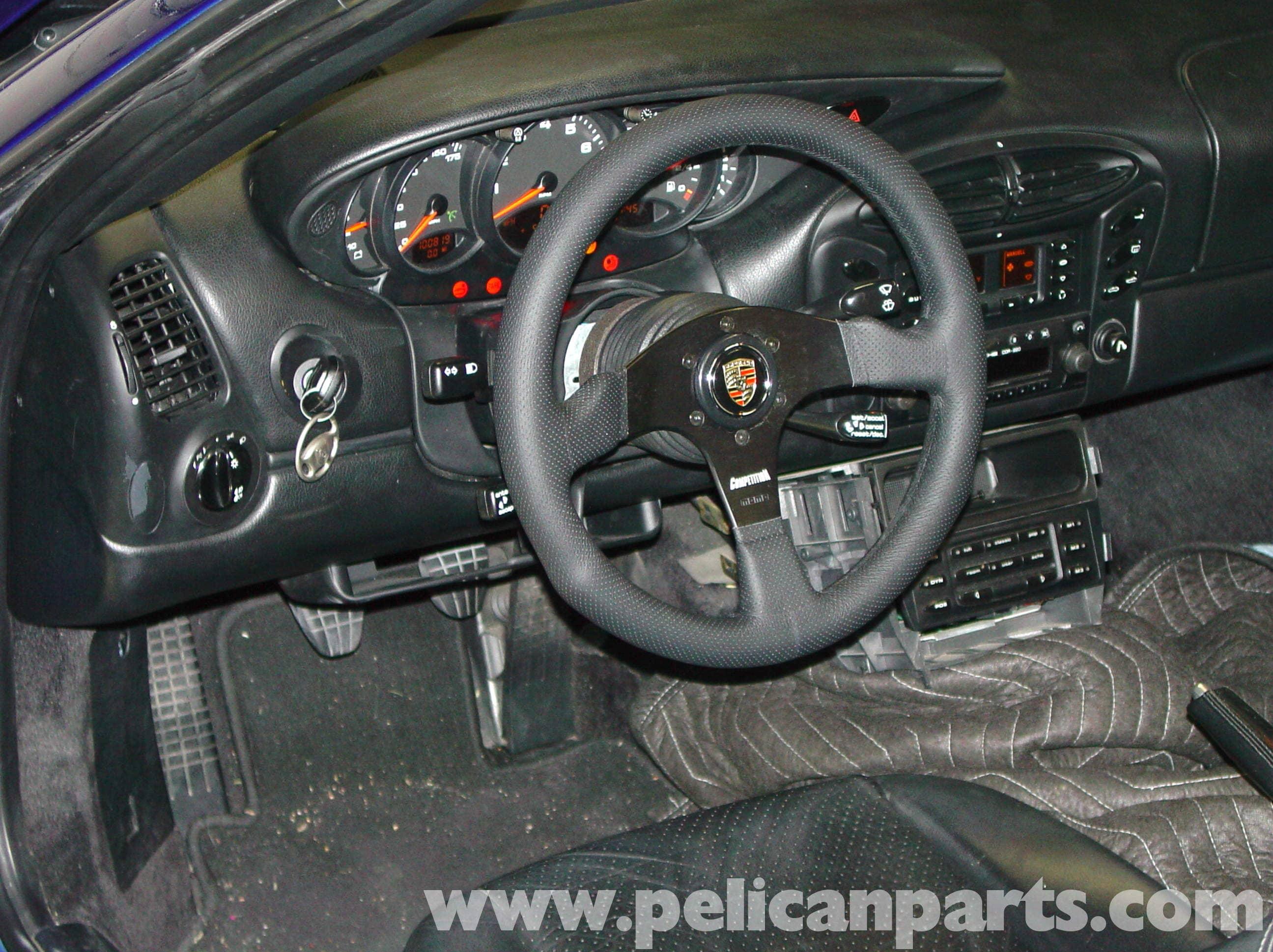 Porsche 911 Carrera Steering Wheel Replacement 996 1998
