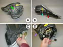 The Carrera headlamp is a somewhat complicated piece of equipment.
