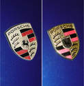 This before (left) and after photo (right) really shows the difference that a new crest can make.