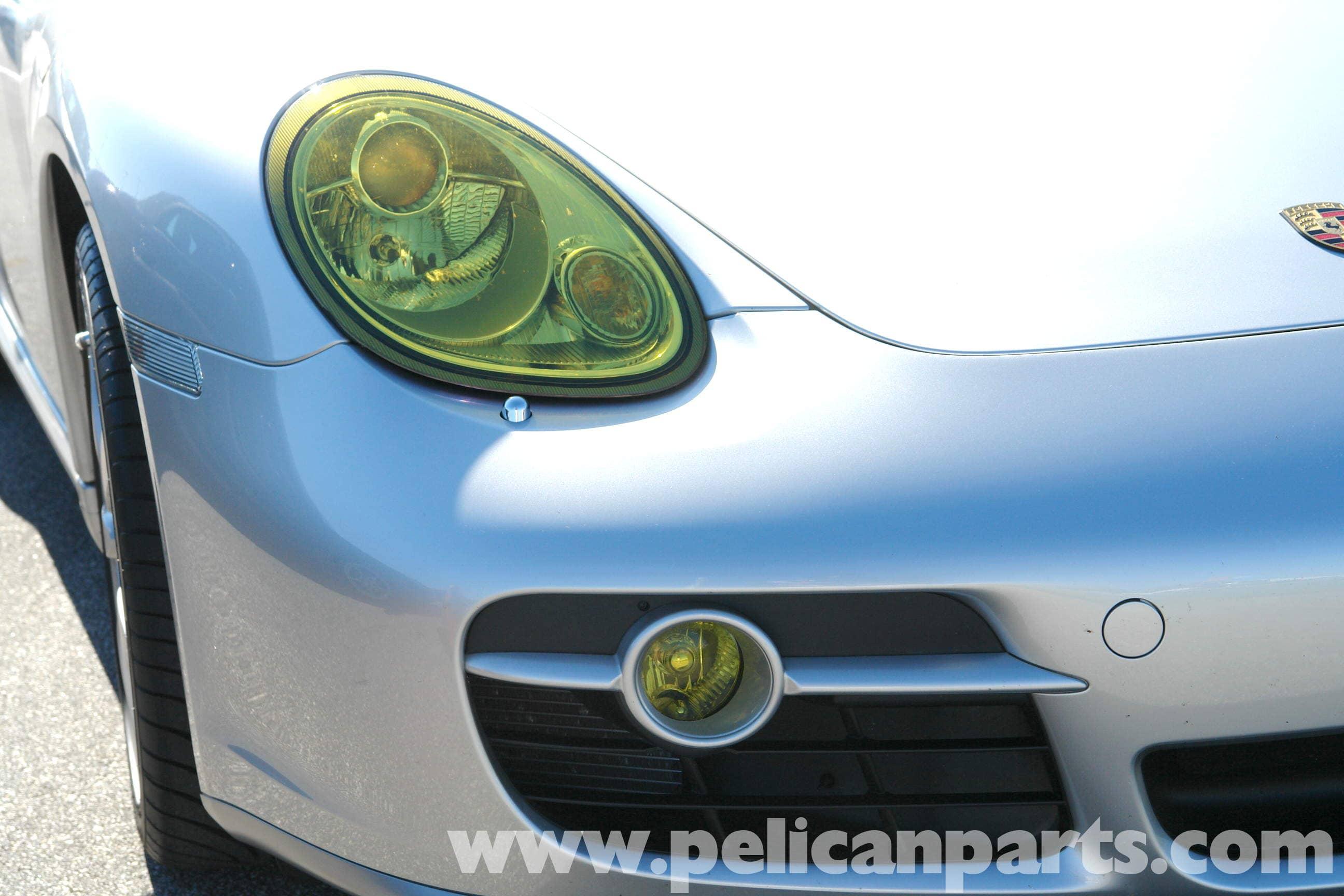 Porsche 911 Carrera Headlamp Protection Film Installation