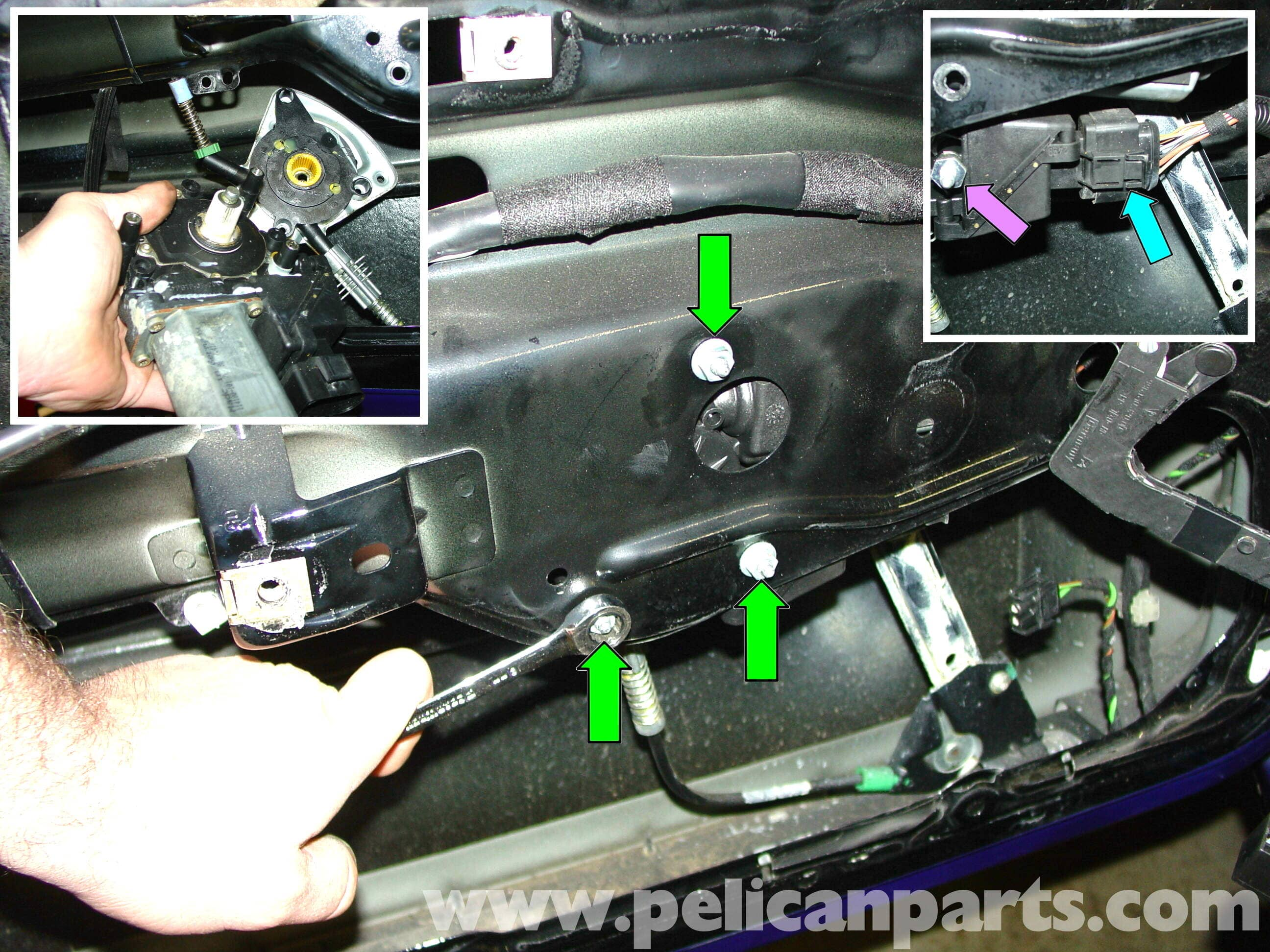 Porsche 911 Carrera Window Regulator And Motor Replacement