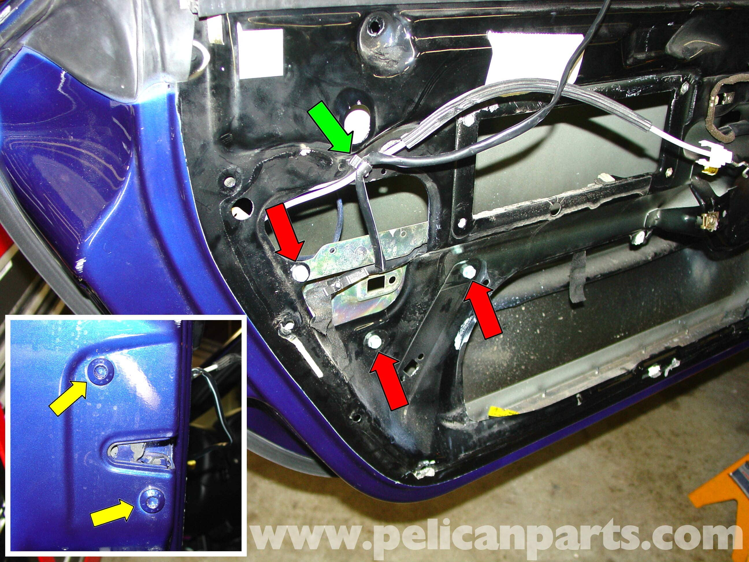 Porsche 911 Carrera Door Locks And Handle Replacement 996 1998 Likewise Wiring Diagram As Well 1983 Large Image Extra
