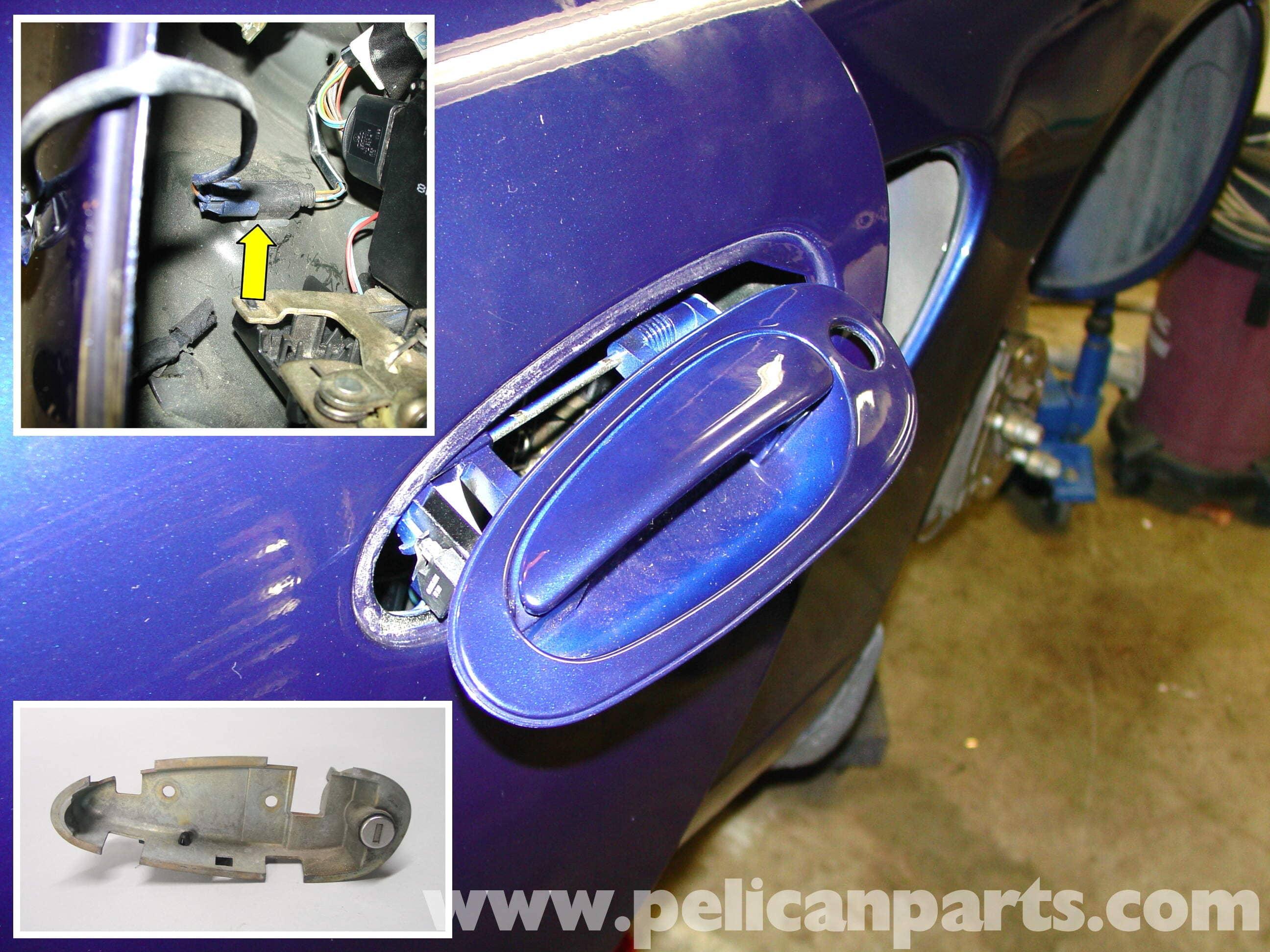 Porsche 911 Carrera Door Locks And Handle Replacement 996 1998 2005 997 2005