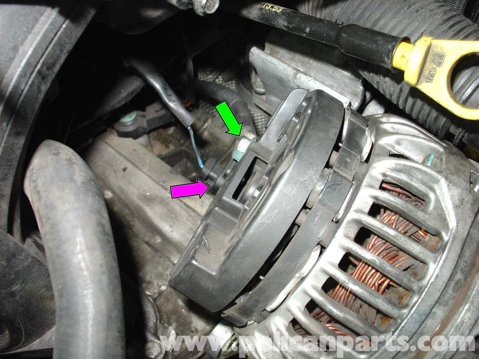 pic05 porsche 911 carrera alternator replacement 996 (1998 2005) 997  at gsmx.co