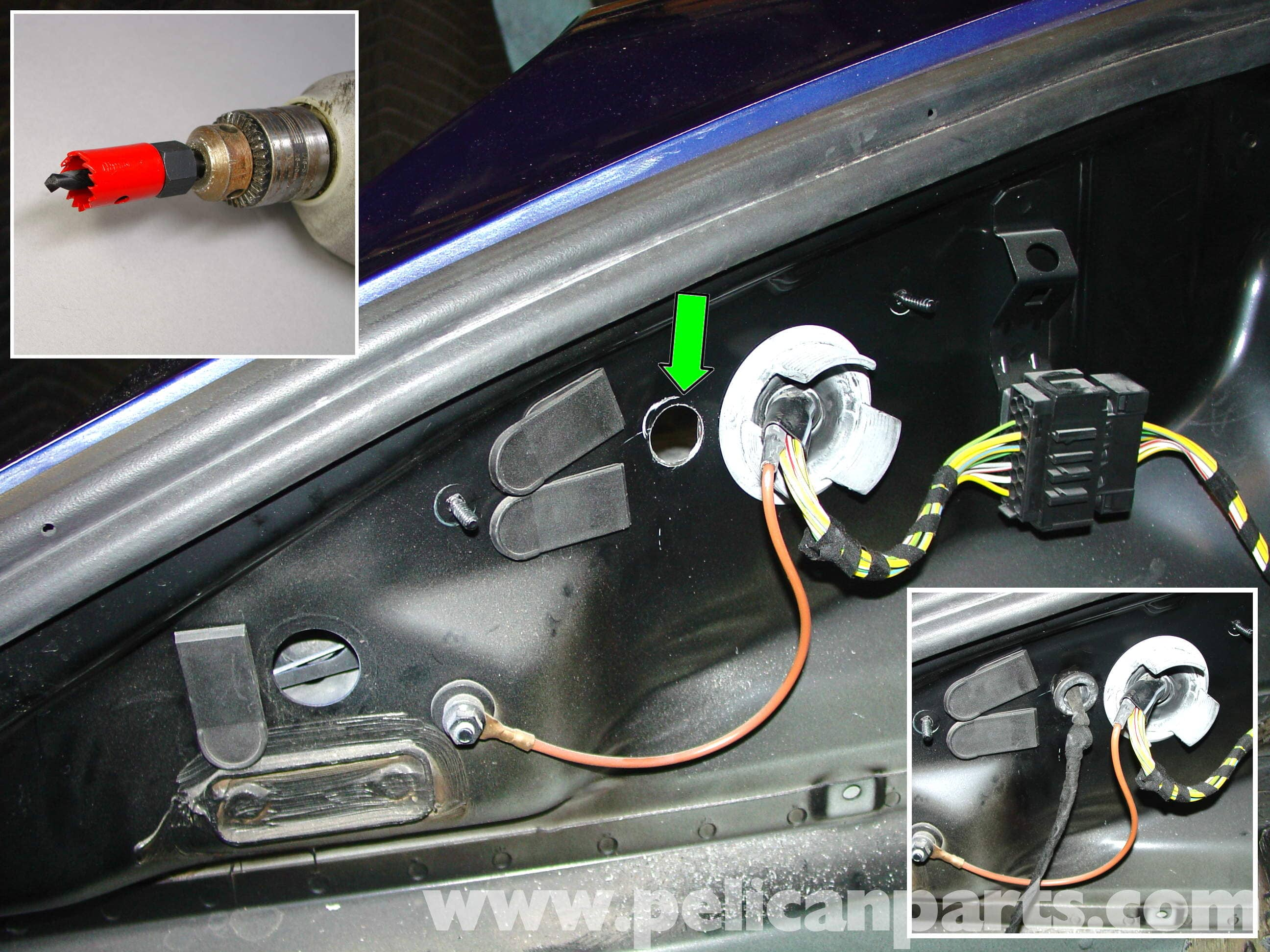 Porsche 911 Carrera Litronic Headlamp Installation 996