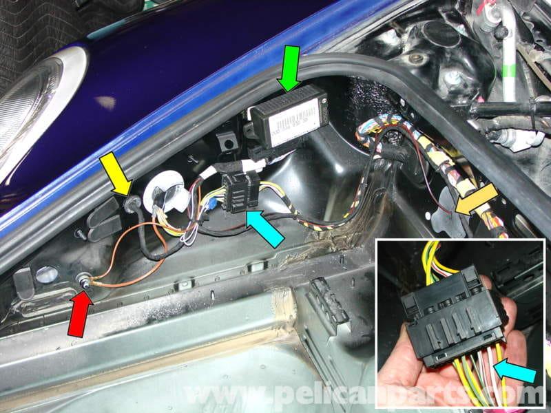Porsche 911 Carrera Litronic Headlamp Installation 996