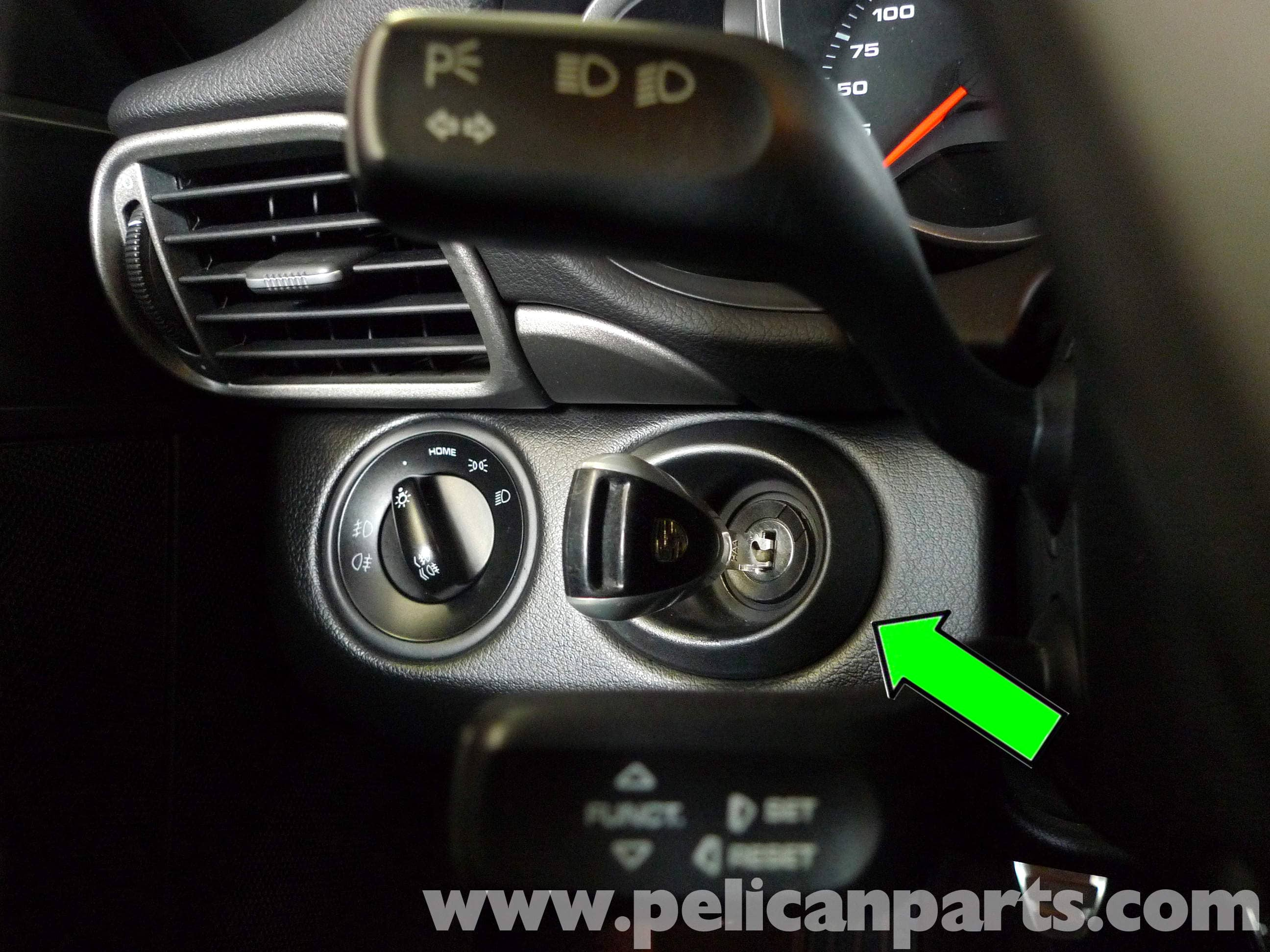 pic06 porsche 911 carrera ignition switch steering lock replacement  at soozxer.org